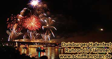 Silvester Duisburg Rhein